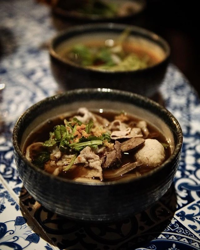 Thai Boat Noodles Not to be look over @phoragesg are the range of soup noodles that are available.