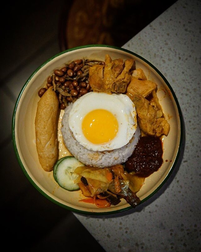Nasi Lemak $8.90 is definitely not the cheapest of NL, but frankly it was satisfying.