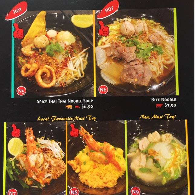 Hunt For New Thai Noodle And Kitchen? Here You Are.. Noodle Thai Thai Kitchen @327 Beach Road
