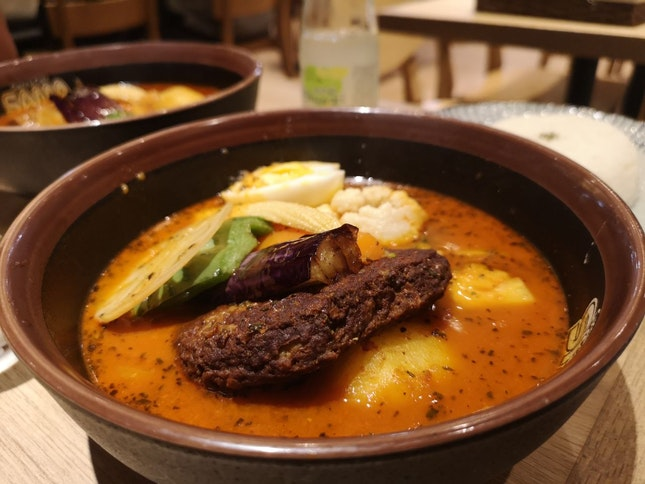Authentic Soup Curry