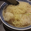 Fancy a hot piping bowl of soup Wanton mee with springy noodles?