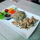 TheOlive Rice(SGD$8.90) with an additional side of chicken.