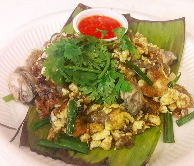 Oyster Omelette- a dish I could eat everyday, especially those with fat, juicy oysters.