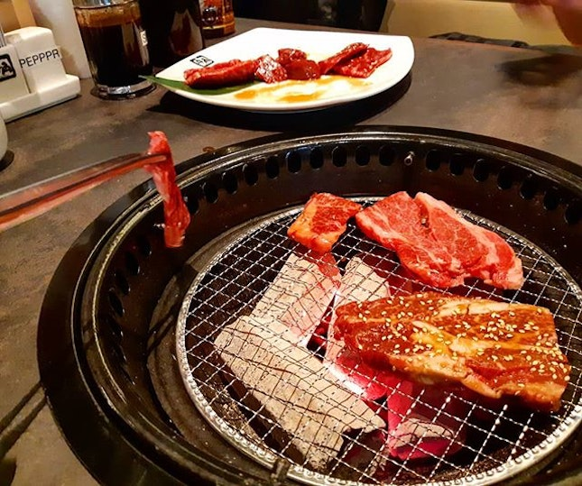[New Post up on Blogsite] 👉click active link in bio to find out more about @gyukakujbbq 's all-you-can-eat Beef buffet.