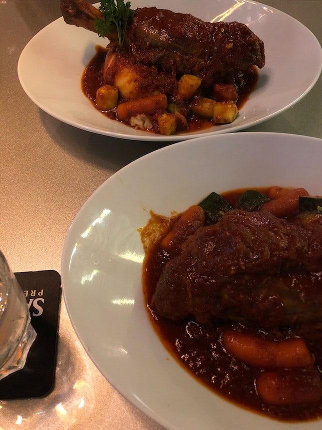 2 Lamb Shanks For The Price Of 1!