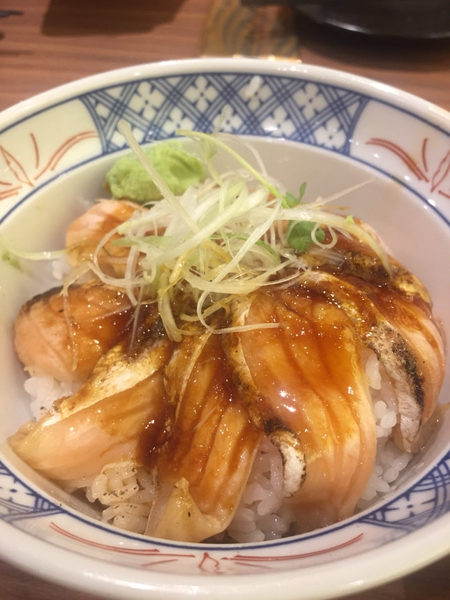 Aburi Salmon Don ($13)