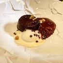 #burpple chocolate fondant