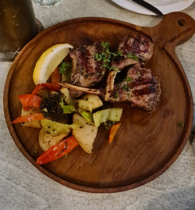 Lamb Chops ($39.80)