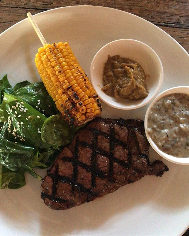 It's Friday and a promising weekend calls for STEAK!
