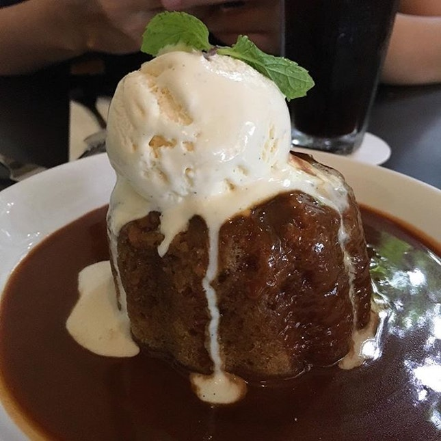 The grand dame of sticky date puddings in Singapore.