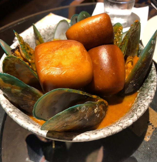 Flavourful Curry w Mussels