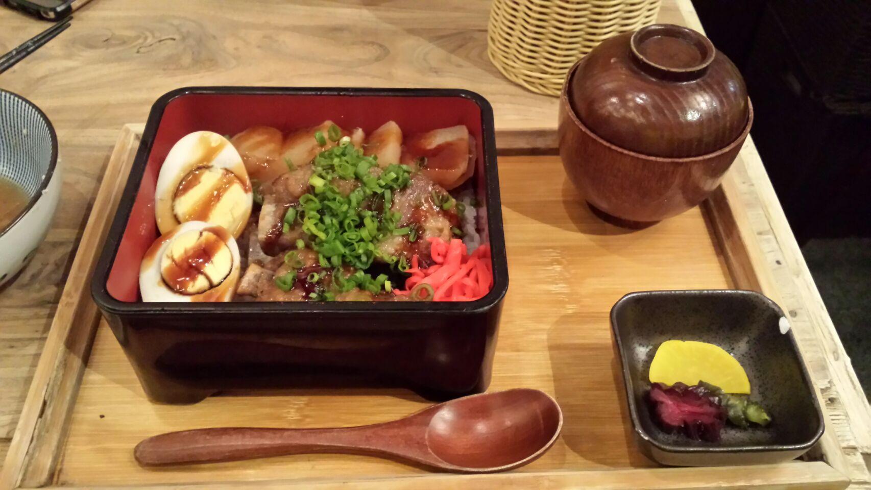 Kurobuta Spare Ribs Lunch Set19++