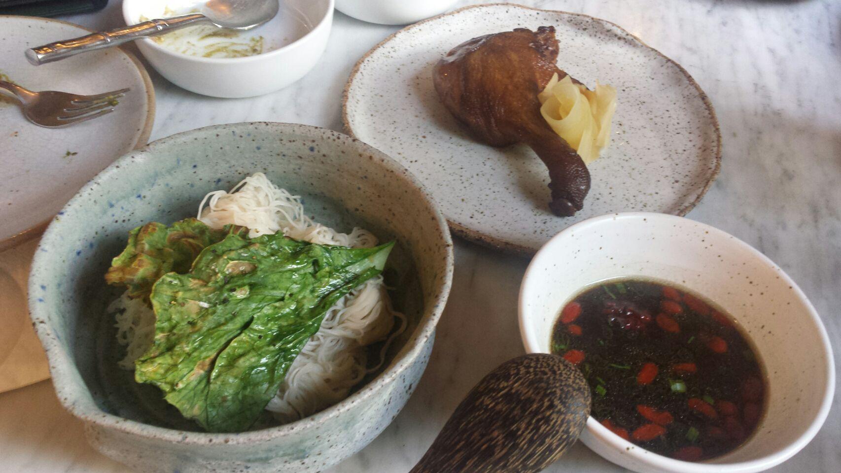 Herbal Duck Tsukemen 25++