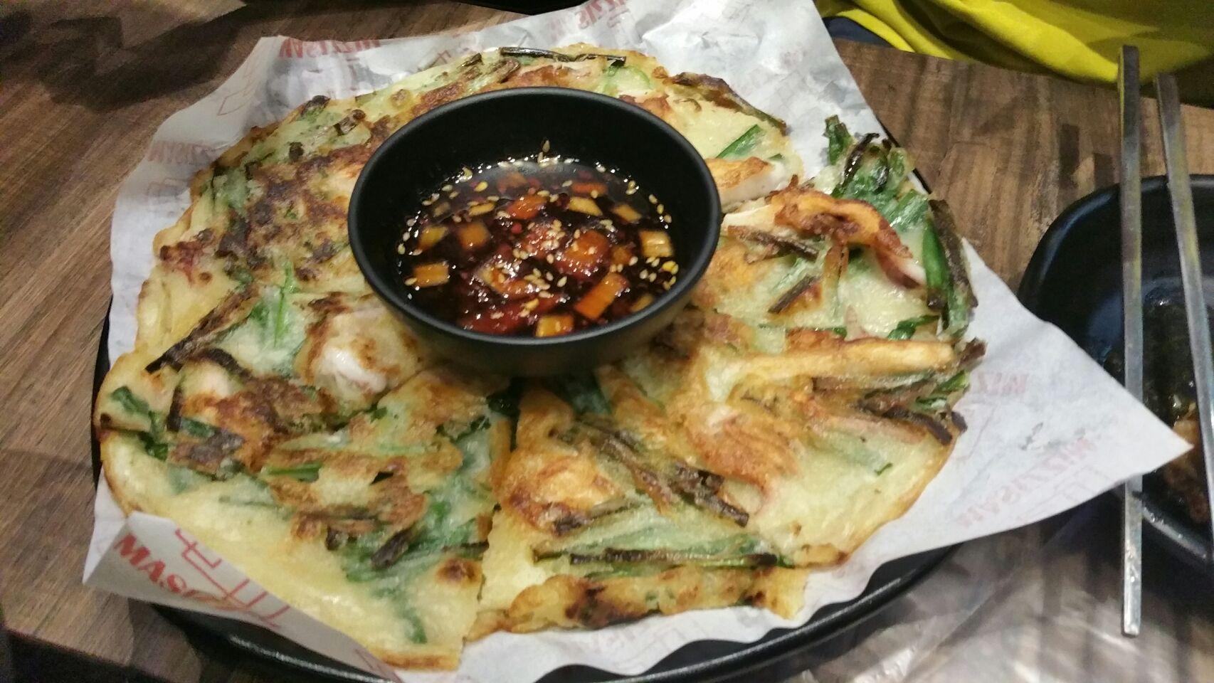Squid And Leek Pancake 14.8++