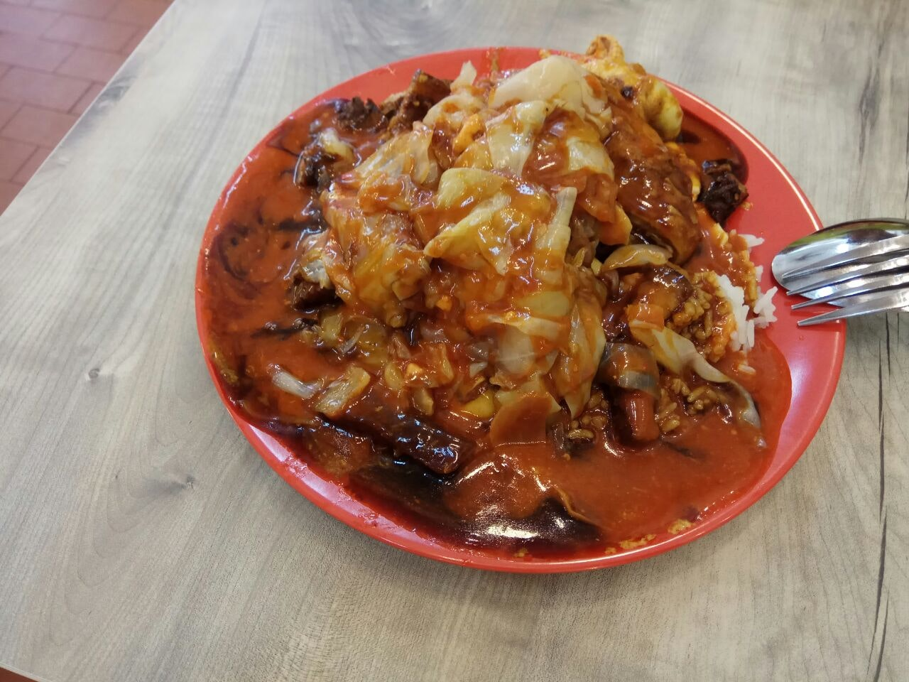 Spicy Sauce And Lor Only 10.8nett