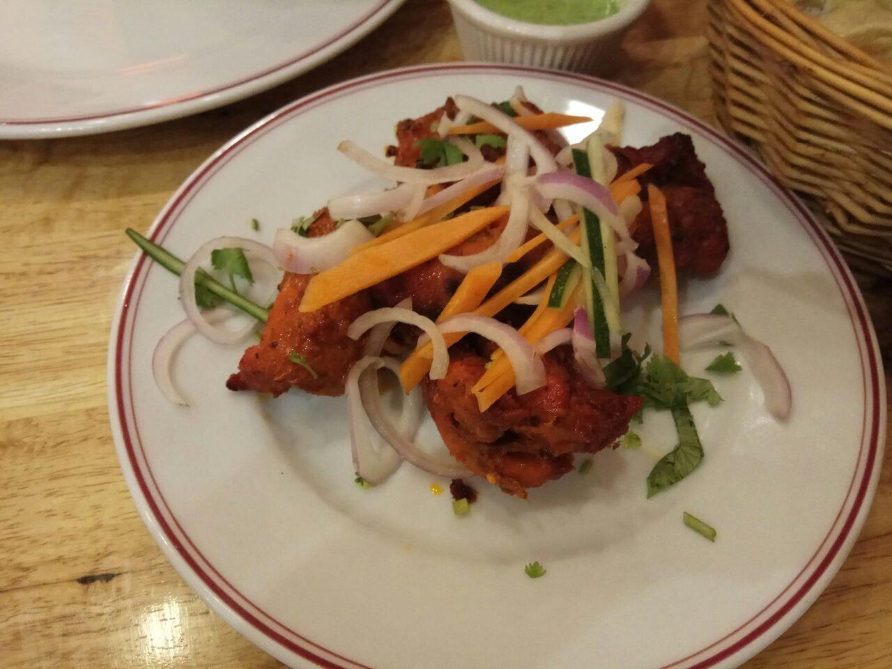 Chicken Tikka Kebab 14.9++