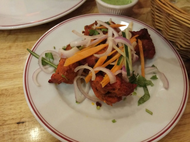 Chicken Tikka Kebab 14.9++