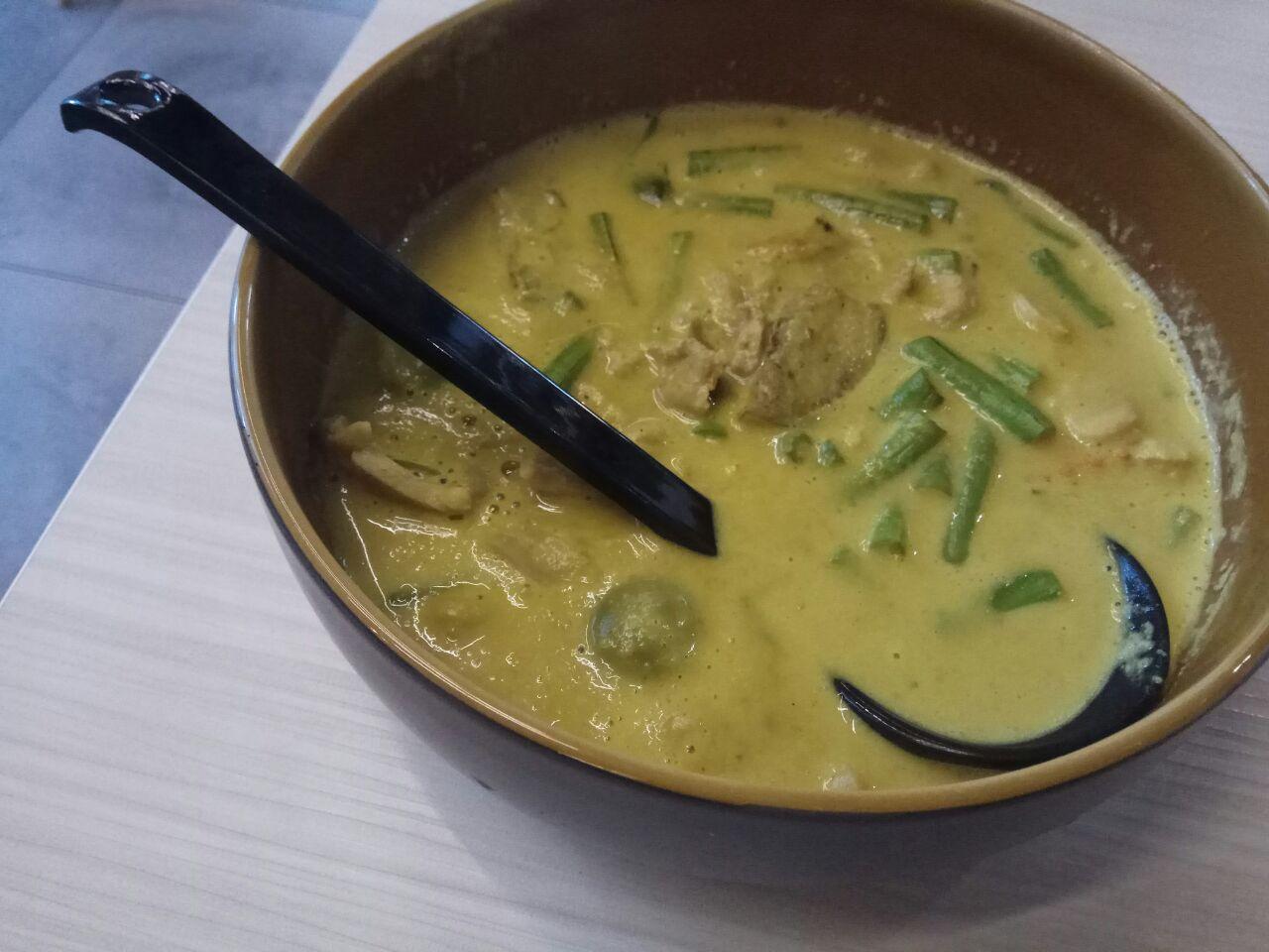 Thai Curry Gai( Aka Chicken) 13.8++