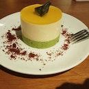 Mango Basil Cake