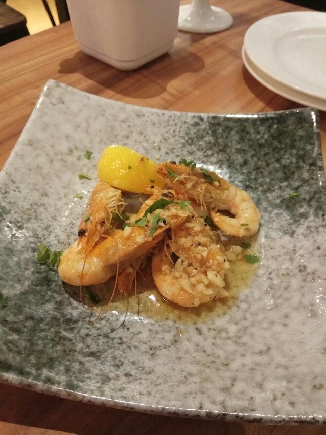 Prawns With Lemon Butter Garlic 8.9+