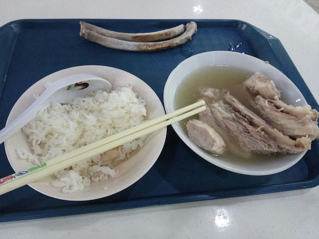 Premium Ribs With Rice 9nett