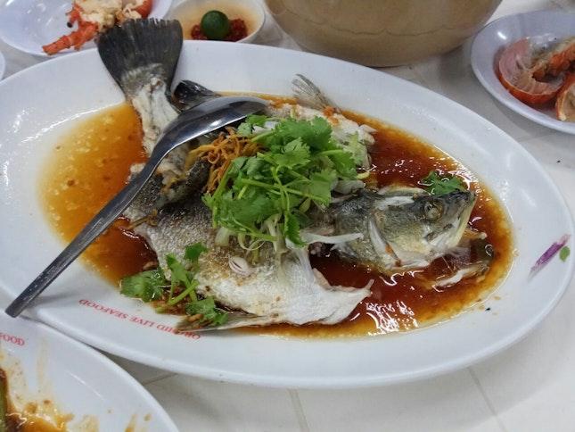 Hong Kong Style Seabass 4.5nett/100g