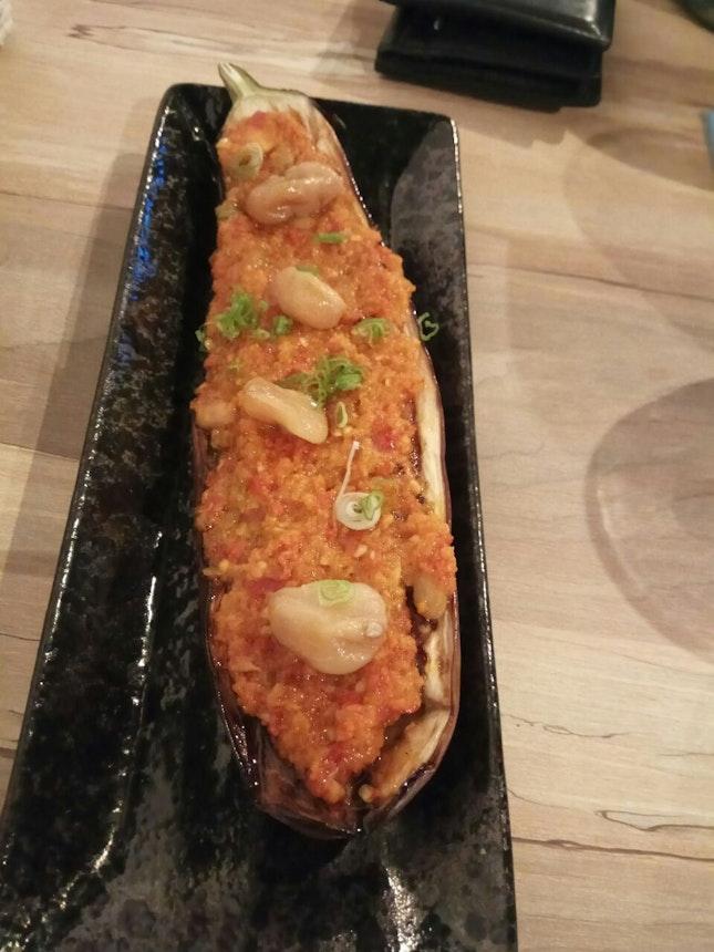 Grilled Eggplant (Chili) 5+