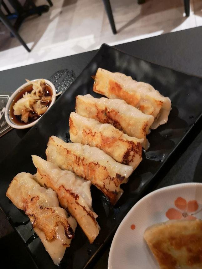 Pan Fried Handmade Dumpling 8.4++