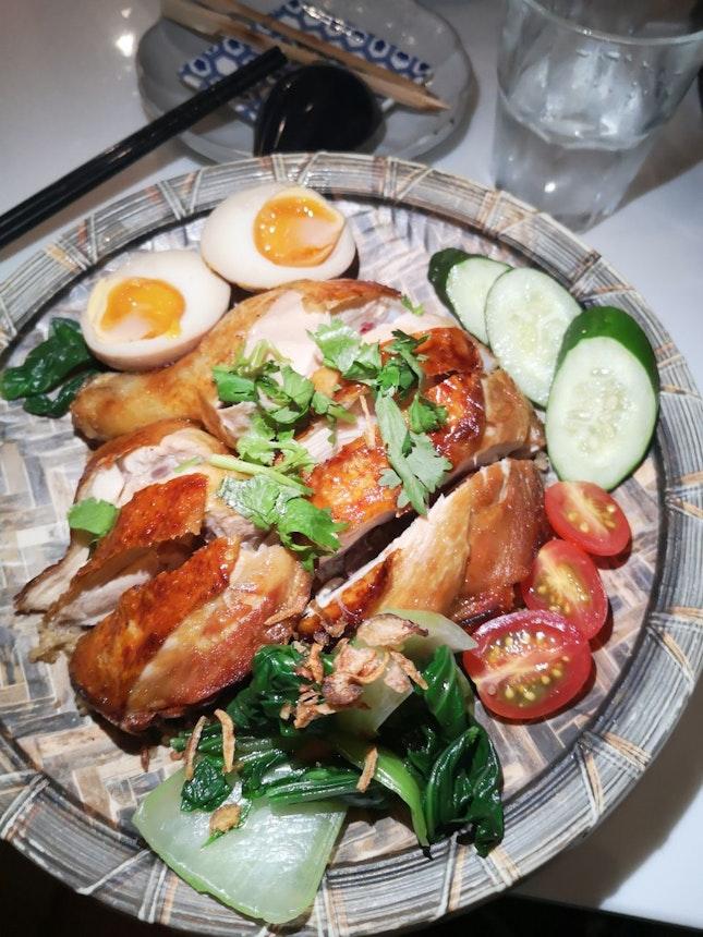 Roast Chicken 15.9++(used Burpple Beyond)