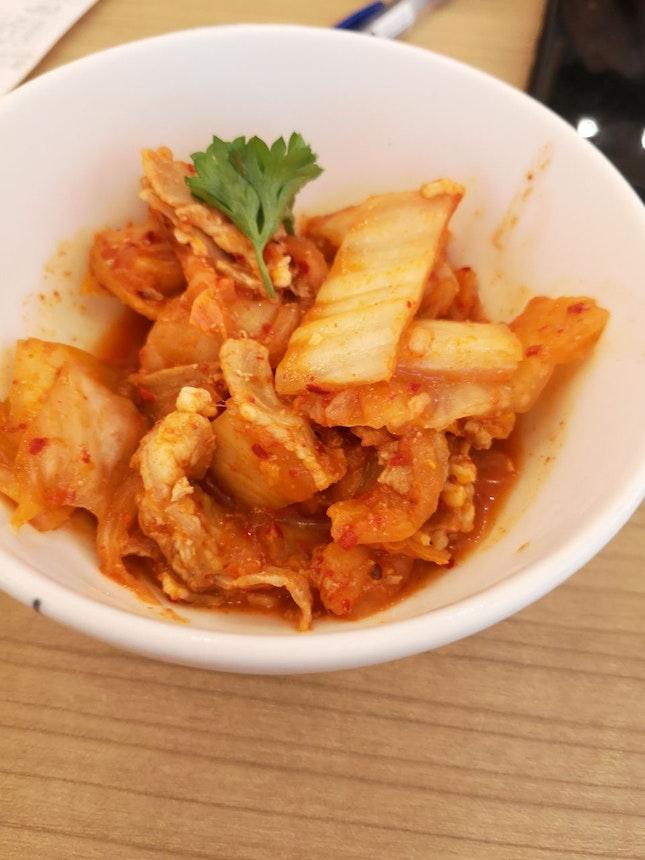 Kimchi Pork 4++(5++ For Any 2 Sides)