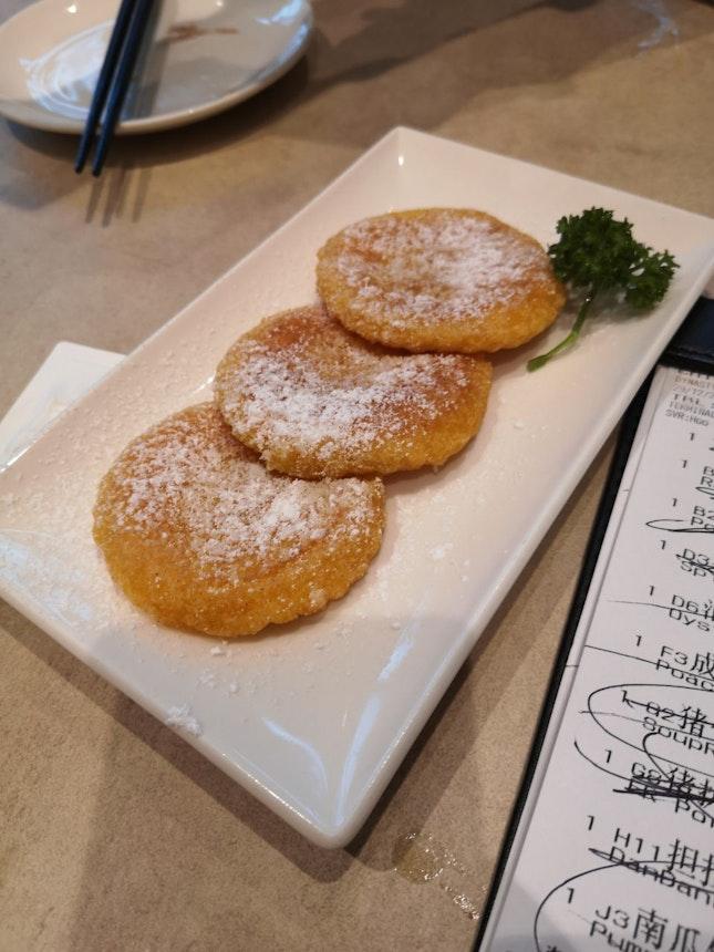 Pan Fried Pumpkin Pastry 4.5++