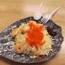 Shrimp Fried Egg Rice 6nett Add On Tobiko+1nett