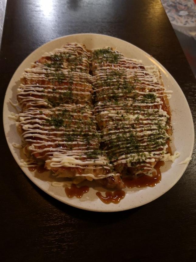 Pork Okonomiyaki 12+(SVC Only) Add On Beef+5+