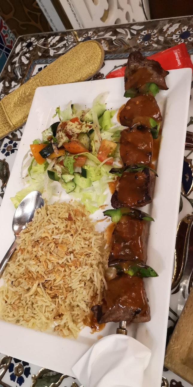 Beef Shish Kebab 26.5++