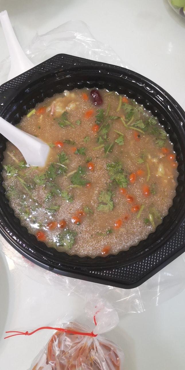 Claypot Turtle Soup 51nett 2-3pax Portion Takeaway