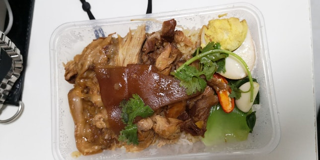 Pig Trotter Rice 10+Gst Takeaway