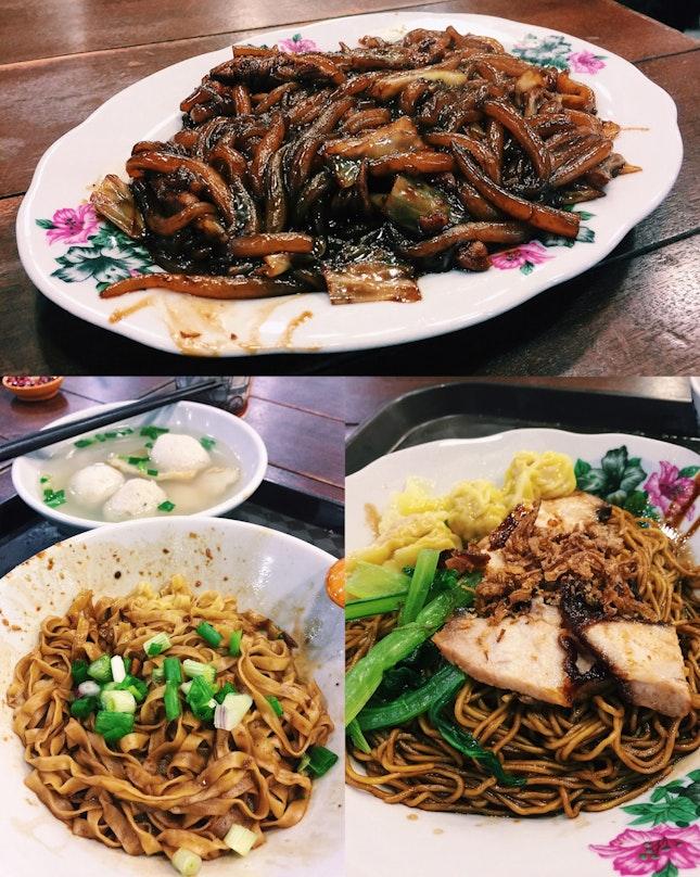 Fried Lau Shu Fun, KL Wanton Mee, Yong Peng Xi Dao Fishball Noodles