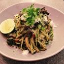 Pesto & Mushroom Pasta