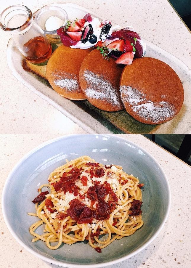 Plentyfull Pancakes & Carbonara