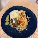 Grilled Miso Cod Capellini