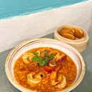 Singapore Style Chilli Prawns