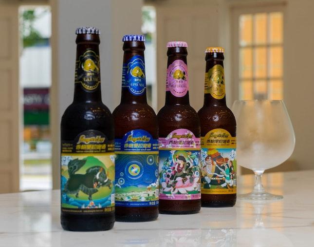 Shangrila beer from Tibet Now Serving At 28wilkie