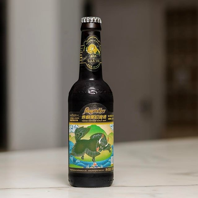 "Introducing the award winning beer "" Black Yak"" from Shangrila beer a taste of Caramel and coffee #shangrilabeer #beer #tuscanywine #torcianowinery #28wilkie #28wilkiebarandrestaurant #28wilkieshangrilabeer#burpple"