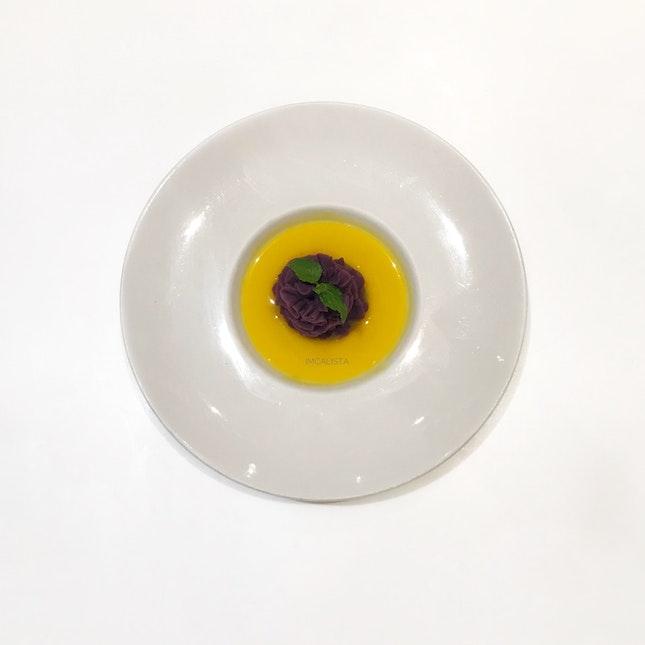 Purple Sweet Potato W/ Pumpkin Cream (RM7.90)
