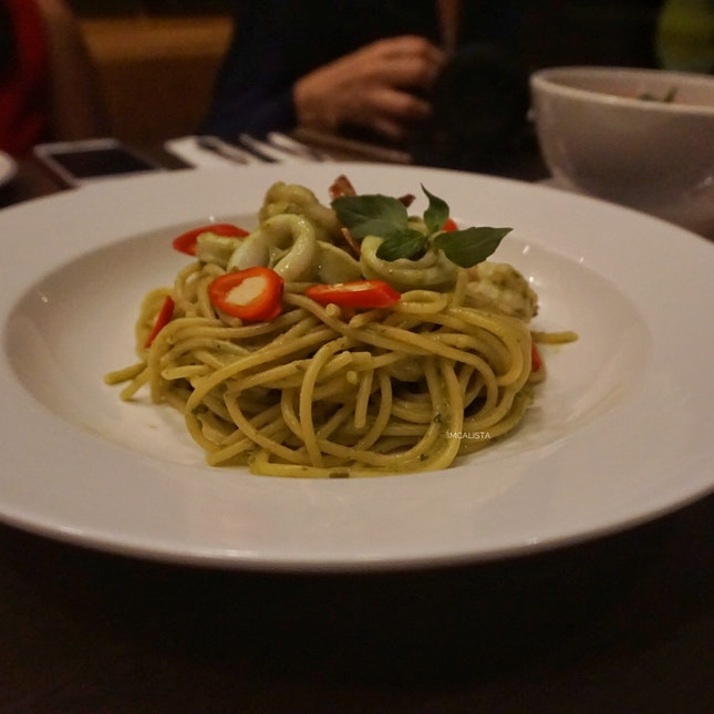 Green Curry Pasta (RM37.9)