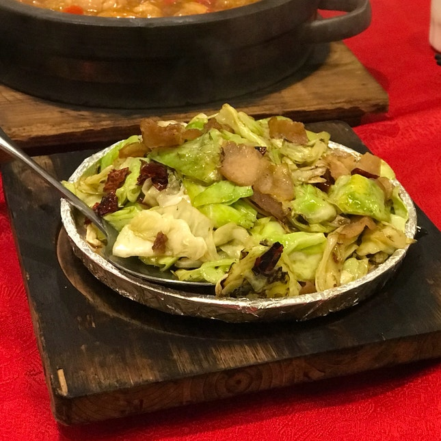 Stir Fried Beijing Cabbage (RM23)