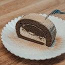 Houjicha Roll Cake (RM10)