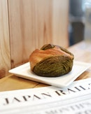 Matcha White Chocolate Danish from Asanoya at the cosy, quaint Japan Rail Cafe.