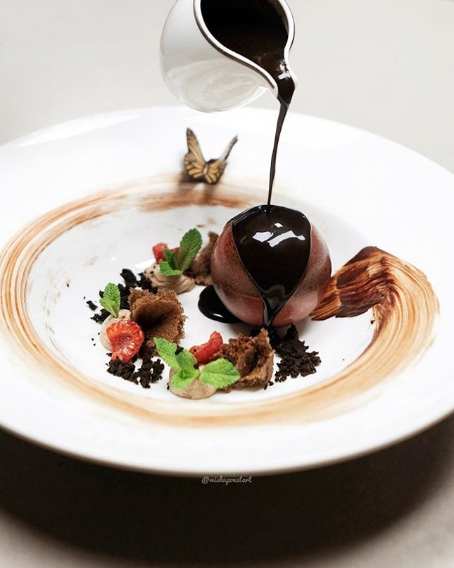 Chocolate paradise for the chocolate lovers.