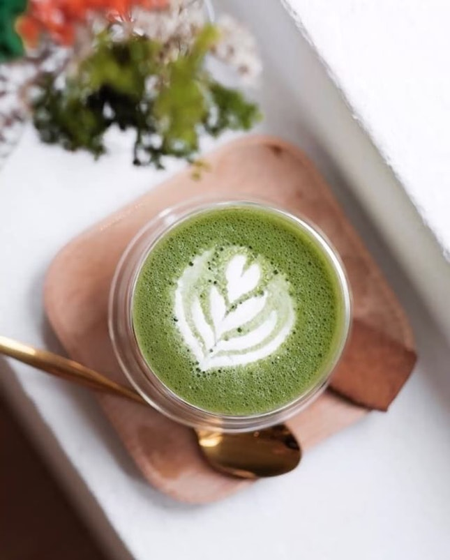 Matcha forward to the weekends.